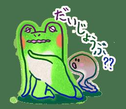 Is a frog sticker #427617