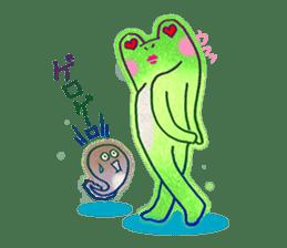 Is a frog sticker #427619