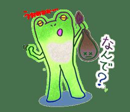 Is a frog sticker #427620