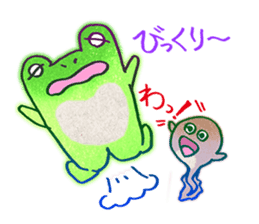 Is a frog sticker #427623
