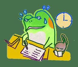 Is a frog sticker #427624