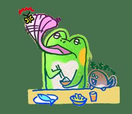 Is a frog sticker #427625