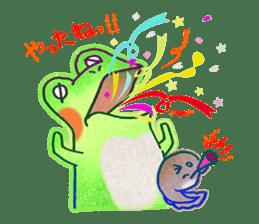Is a frog sticker #427626