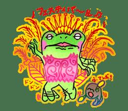 Is a frog sticker #427630