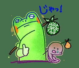 Is a frog sticker #427632
