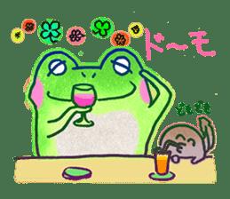 Is a frog sticker #427636