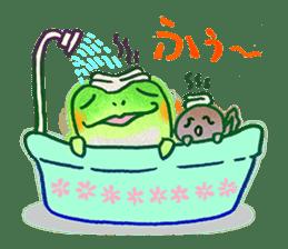 Is a frog sticker #427637