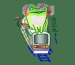 Is a frog sticker #427638