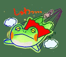 Is a frog sticker #427639
