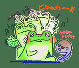 Is a frog sticker #427640