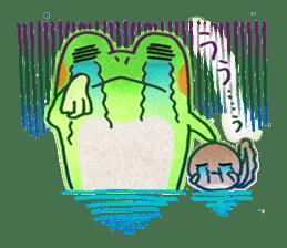 Is a frog sticker #427641
