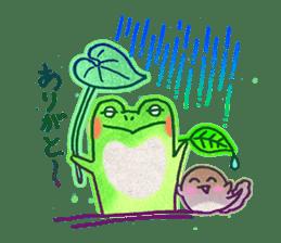 Is a frog sticker #427642