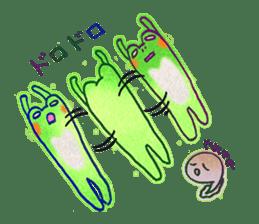 Is a frog sticker #427643