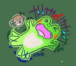 Is a frog sticker #427644