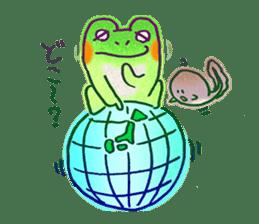 Is a frog sticker #427645
