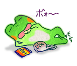 Is a frog sticker #427646