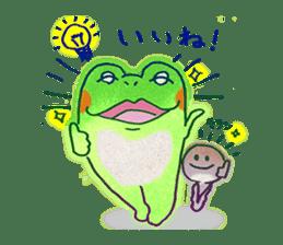 Is a frog sticker #427647