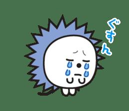 "Hedgehog""Bug""-Greeting sticker #428735"