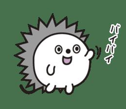 "Hedgehog""Bug""-Greeting sticker #428739"