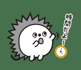 "Hedgehog""Bug""-Greeting sticker #428745"