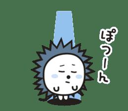 "Hedgehog""Bug""-Greeting sticker #428752"