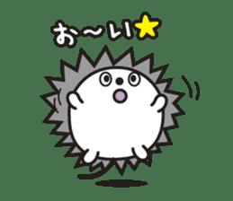 "Hedgehog""Bug""-Greeting sticker #428757"