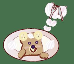 Toast Bear sticker #428891