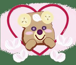 Toast Bear sticker #428892