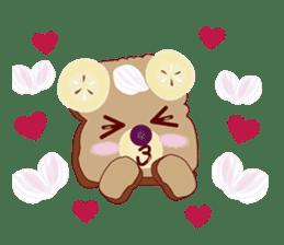 Toast Bear sticker #428894