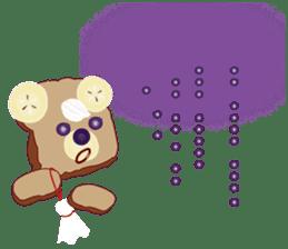 Toast Bear sticker #428902