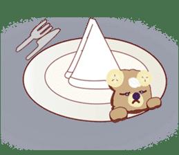 Toast Bear sticker #428905