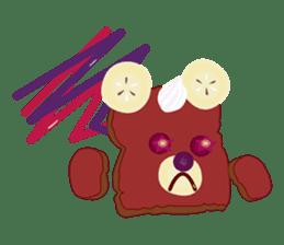 Toast Bear sticker #428906