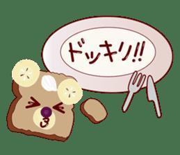 Toast Bear sticker #428908
