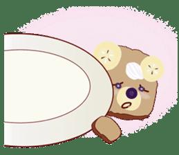 Toast Bear sticker #428909