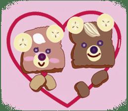 Toast Bear sticker #428912