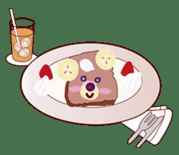 Toast Bear sticker #428913