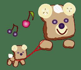Toast Bear sticker #428917