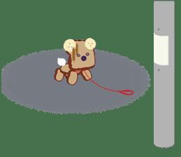 Toast Bear sticker #428918