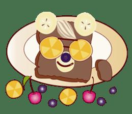 Toast Bear sticker #428926