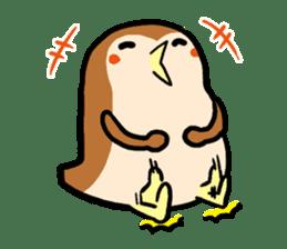 Cute sparrow, Chunta sticker #429410
