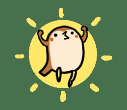 Cute sparrow, Chunta sticker #429415
