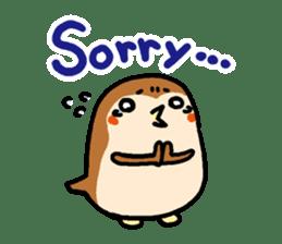 Cute sparrow, Chunta sticker #429431