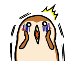 Cute sparrow, Chunta sticker #429441