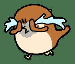 Cute sparrow, Chunta sticker #429444