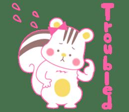 uncute Squirrel sticker #429904