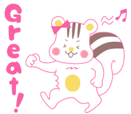 uncute Squirrel sticker #429922