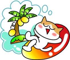 Cute cat sticker #430159