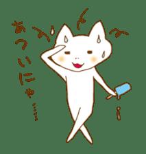 "A Nodding Cat ""NYANCHI"" sticker #432267"