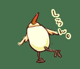 A chicken with husks sticker #433301