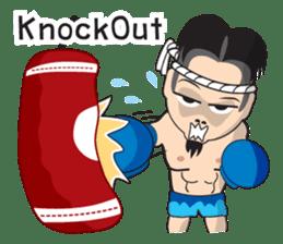 Mr. Muay Thai sticker #433689